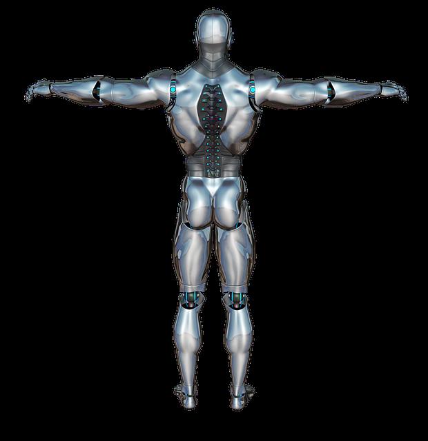 man robots