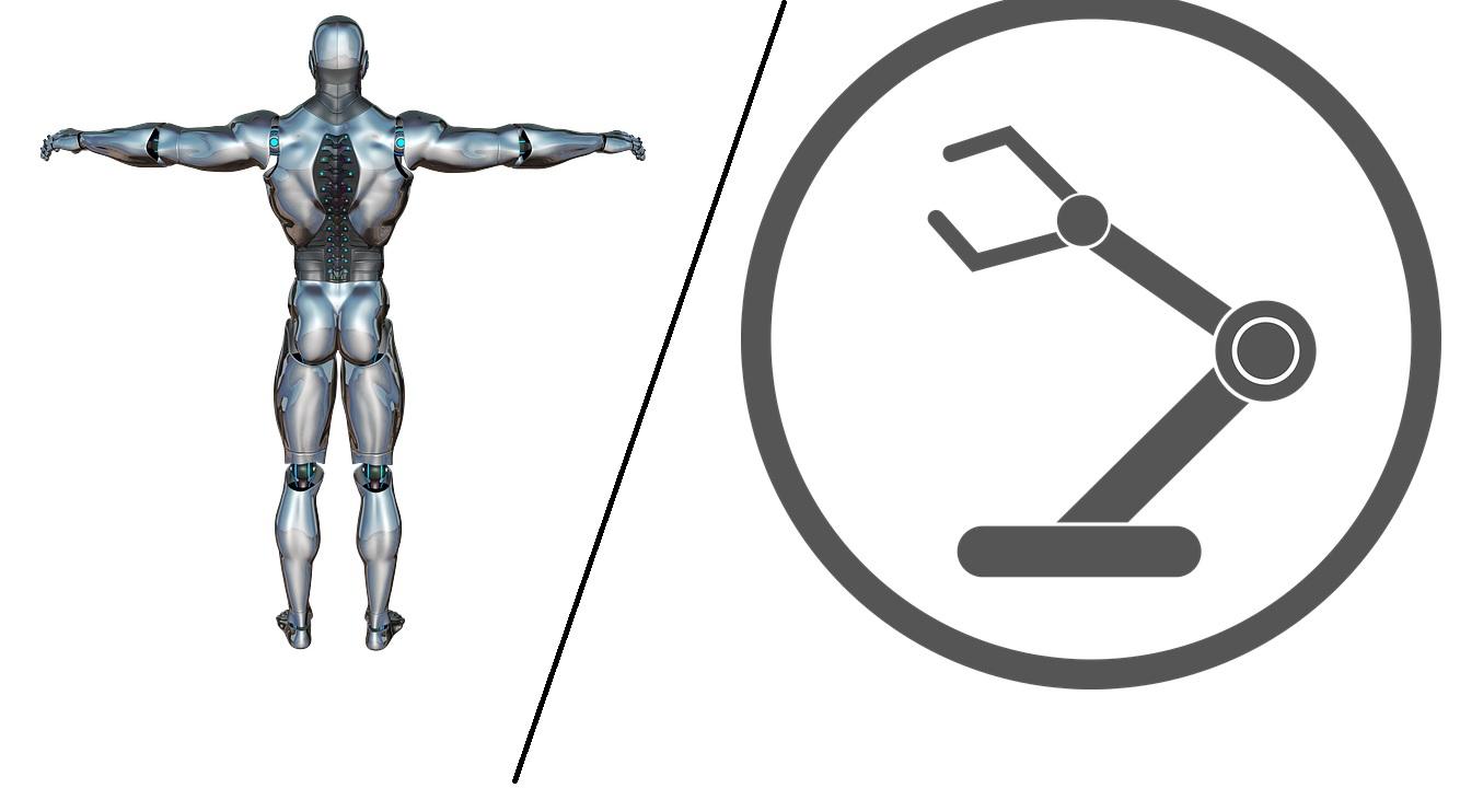robot vs machine